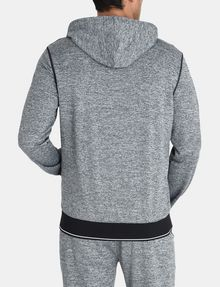ARMANI EXCHANGE SPACE DYE TERRY HOODIE Fleece Jacket Man r
