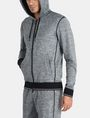 ARMANI EXCHANGE SPACE DYE TERRY HOODIE Fleece Jacket Man d