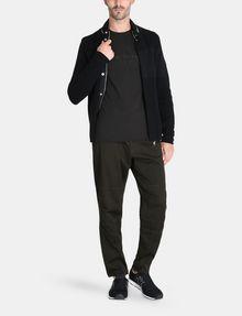 ARMANI EXCHANGE FEEDER STRIPE LOGO T-SHIRT S/S Knit Top Man a