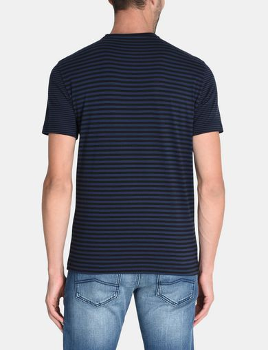FEEDER STRIPE LOGO T-SHIRT