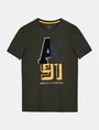 ARMANI EXCHANGE MIXED FONT CREWNECK T-SHIRT Logo T-shirt Man b