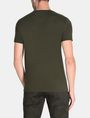 ARMANI EXCHANGE MIXED FONT CREWNECK T-SHIRT Logo T-shirt Man r