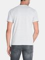 ARMANI EXCHANGE FEEDER STRIPE LOGO T-SHIRT S/S Knit Top Man r
