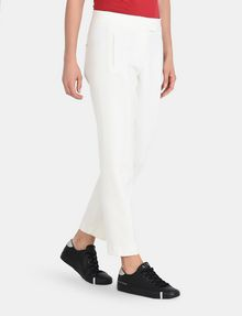 ARMANI EXCHANGE SLIM NOTCHED-WAIST TROUSERS Pant Woman d