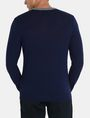 ARMANI EXCHANGE COLORBLOCK MERINO V-NECK SWEATER Pullover Man r