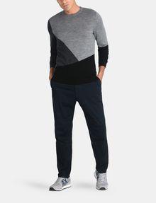 ARMANI EXCHANGE COLORBLOCK MERINO CREWNECK SWEATER Pullover Man a