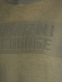 ARMANI EXCHANGE DOUBLE-KNIT LOGO SWEATER Pullover Man e