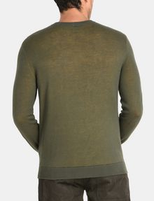 ARMANI EXCHANGE DOUBLE-KNIT LOGO SWEATER Pullover Man r