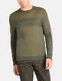 ARMANI EXCHANGE DOUBLE-KNIT LOGO SWEATER Pullover Man f