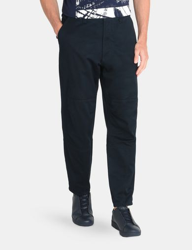 RELAXED DOBBY UTILITY PANTS
