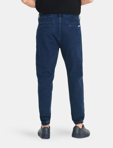 FRENCH TERRY INDIGO JOGGERS