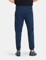ARMANI EXCHANGE FRENCH TERRY INDIGO JOGGERS Novelty Fit Denim Man r