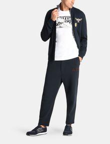 ARMANI EXCHANGE LOGO PATCH FLEECE PANTS Fleece Pant Man a
