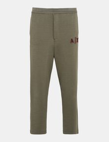 ARMANI EXCHANGE LOGO PATCH FLEECE PANTS Fleece Pant Man b