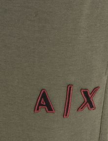 ARMANI EXCHANGE LOGO PATCH FLEECE PANTS Fleece Pant Man e
