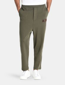 ARMANI EXCHANGE LOGO PATCH FLEECE PANTS Fleece Pant Man f