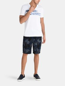 ARMANI EXCHANGE PRINT CHINO SHORTS Chino Short U a