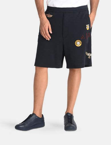 LOGO PATCH RELAXED SHORTS