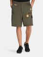 ARMANI EXCHANGE LOGO PATCH RELAXED SHORTS Fleece Short Man f