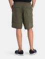 ARMANI EXCHANGE LOGO PATCH RELAXED SHORTS Fleece Short Man r