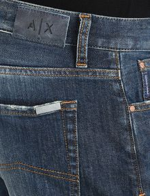 ARMANI EXCHANGE SLIM FIT WHISKERED JEANS Slim fit JEANS Man e