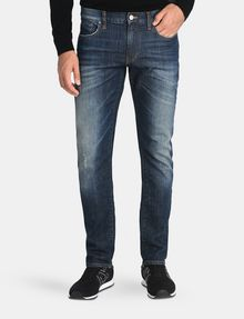 ARMANI EXCHANGE SLIM FIT WHISKERED JEANS Slim fit JEANS Man f