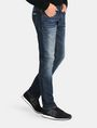 ARMANI EXCHANGE SLIM FIT WHISKERED JEANS Slim fit JEANS Man d
