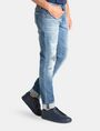 ARMANI EXCHANGE SKINNY PATCHED UP JEANS Skinny jeans Man d