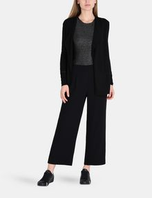 ARMANI EXCHANGE CROPPED WIDE-LEG TROUSER Hose Damen a