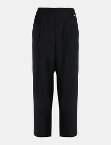 ARMANI EXCHANGE CROPPED WIDE-LEG TROUSER Hose Damen b