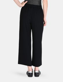 ARMANI EXCHANGE CROPPED WIDE-LEG TROUSER Hose Damen d