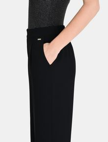 ARMANI EXCHANGE CROPPED WIDE-LEG TROUSER Hose Damen e