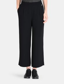 ARMANI EXCHANGE CROPPED WIDE-LEG TROUSER Hose Damen f