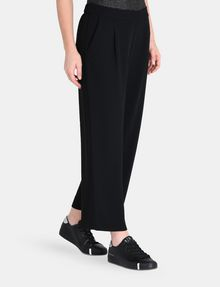 ARMANI EXCHANGE CROPPED WIDE-LEG TROUSER Hose Damen r