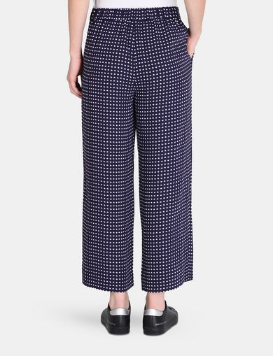CROPPED WIDE-LEG TROUSER
