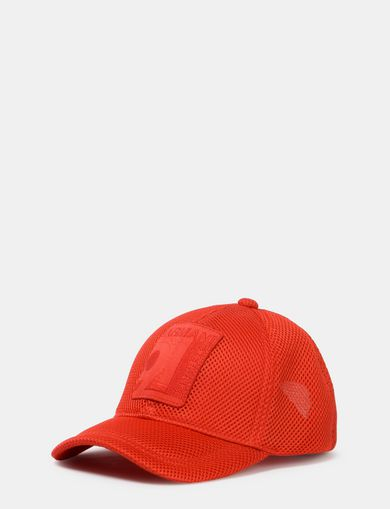 LOGO PATCH MESH HAT
