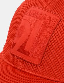 ARMANI EXCHANGE LOGO PATCH MESH HAT Hat Man d