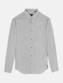 ARMANI EXCHANGE ALLOVER LOGO SHIRT Long sleeve shirt Man b