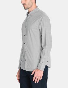 ARMANI EXCHANGE ALLOVER LOGO SHIRT Long sleeve shirt Man d