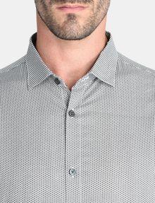 ARMANI EXCHANGE ALLOVER LOGO SHIRT Long sleeve shirt Man e