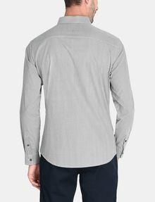 ARMANI EXCHANGE ALLOVER LOGO SHIRT Long sleeve shirt Man r