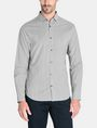 ARMANI EXCHANGE ALLOVER LOGO SHIRT Long sleeve shirt Man f