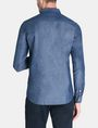 ARMANI EXCHANGE INDIGO CHAMBRAY WORKSHIRT Long sleeve shirt Man r