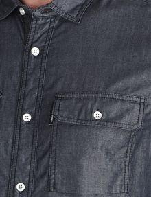 ARMANI EXCHANGE INDIGO CHAMBRAY WORKSHIRT Long sleeve shirt Man e