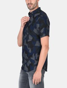 ARMANI EXCHANGE CAMO SHORT SLEEVE SHIRT Short sleeve shirt Man d