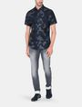 ARMANI EXCHANGE CAMO SHORT SLEEVE SHIRT Short sleeve shirt Man a