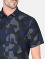 ARMANI EXCHANGE CAMO SHORT SLEEVE SHIRT Short sleeve shirt Man e
