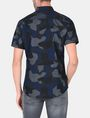 ARMANI EXCHANGE CAMO SHORT SLEEVE SHIRT Short sleeve shirt Man r