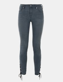 ARMANI EXCHANGE LACE-UP SUPER-SKINNY JEAN Skinny jeans Woman b