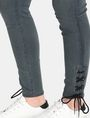 ARMANI EXCHANGE LACE-UP SUPER-SKINNY JEAN Skinny jeans Woman e